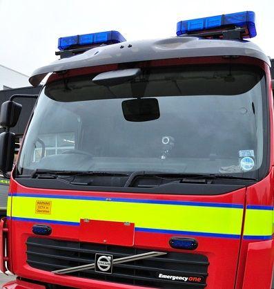 Best Firefighters Tackle Scotby Barn Blaze Fire Engine 400 x 300