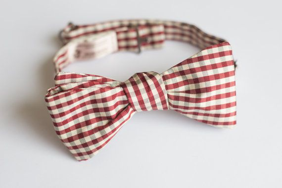 Bow tie for men  Self tie bow tie  by goldenbeastsfashion on Etsy