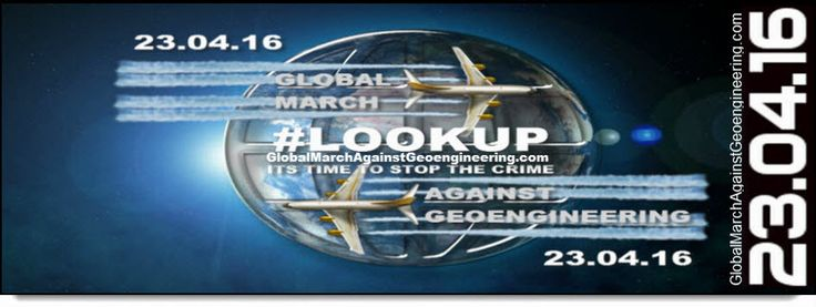 Global March Against Geoengineering Campaigning To Ban Climate Engineering!