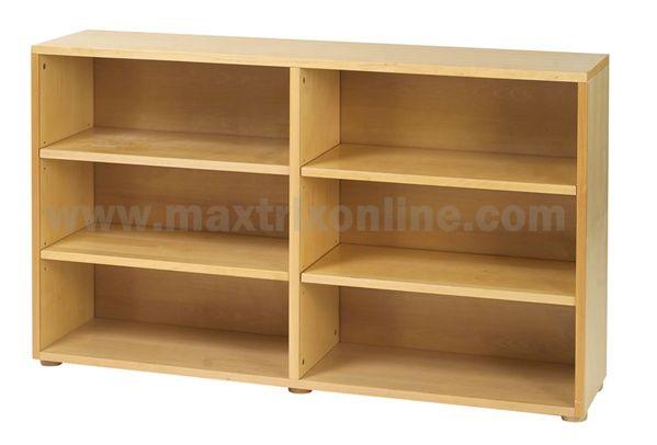 Maxtrix 6 Shelf Bookcase - 4760