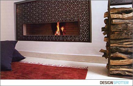 Morrocan Fireplace Moroccan Fireplace For The Home