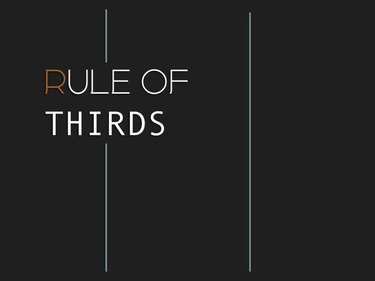 High School Photography Lesson, Rule of thirds by Meredith Hudson via slideshare