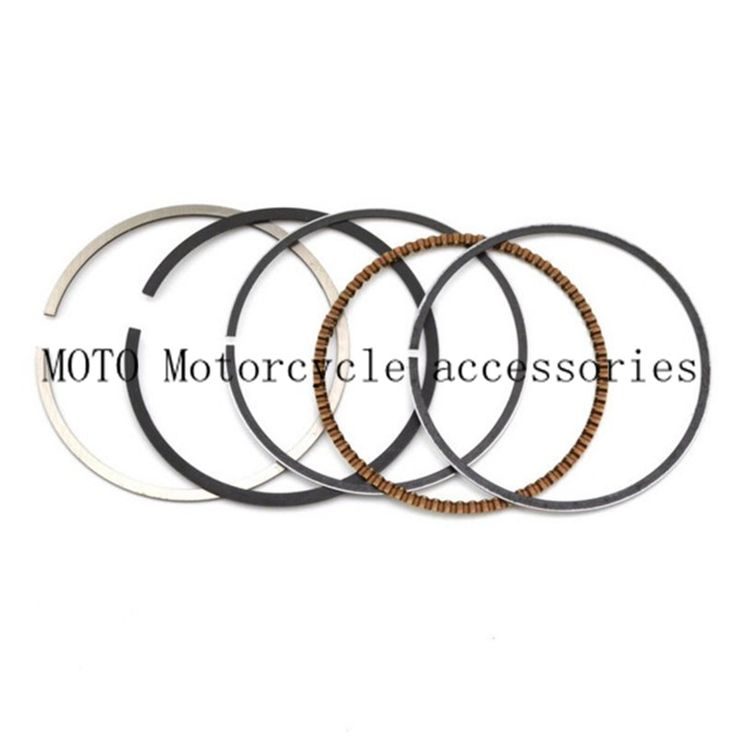 Motorcycle Engine Parts Piston Rings STD / +25 / +50 Bore