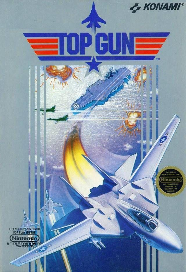 Top Gun - NES Game Original Nintendo NES game cartridge only. All DK's classic used games are cleaned, tested, guaranteed to work and backed by a 120 day warranty.