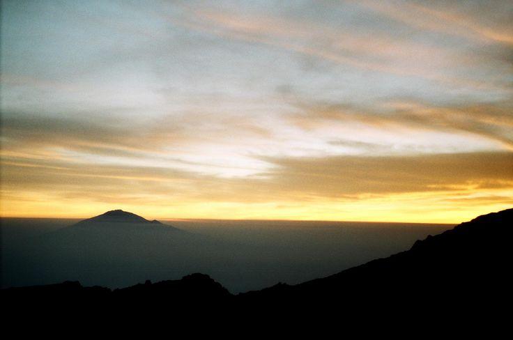 View of Mount Meru Mount Kilimanjaro Kenya (2013) #hiking #camping #outdoors #nature #travel #backpacking #adventure #marmot #outdoor #mountains #photography