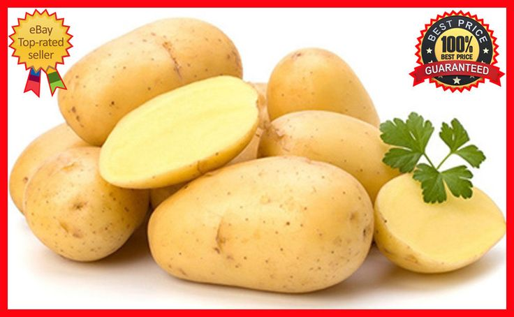 200Pcs Potato Seeds Empress Vegetable seeds from Ukraine - Early - Fresh & Rare #PotatoSeeds