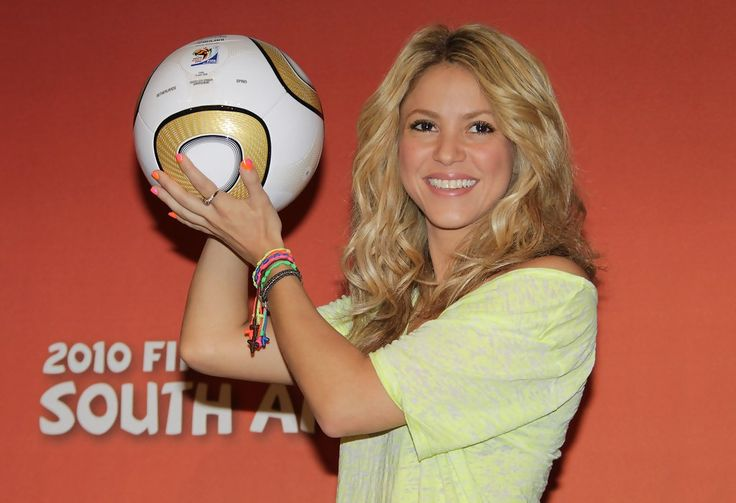 Shakira Photos: Shakira at the World Cup Press Conference