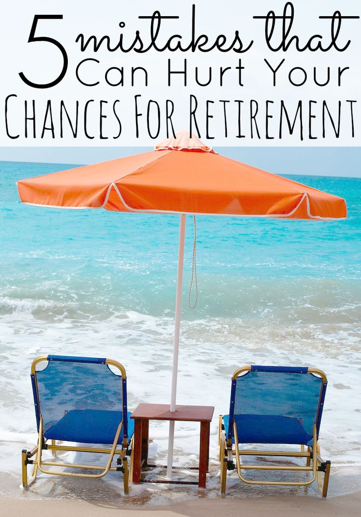 5 Mistakes That Can Hurt Preparing For Retirement. Do you think you will have enough money to retire and how are you preparing for retirement? What age do you expect to retire? What crazy retirement mistakes have you heard of?