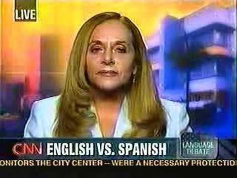 Debate on Spanish speakers refusing to learn English! 4of7 ...