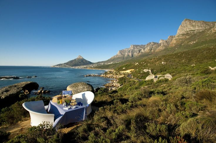 Lunch at the Twelve Apostles.