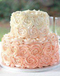 2 tier rosette cake - Google Search