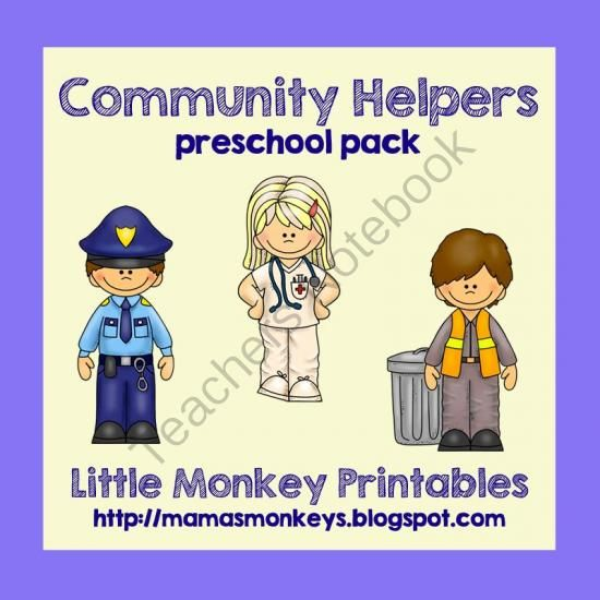 Community Helpers Preschool Pack! Enter for your chance to win 1 of 2.  Community Helpers Preschool Pack (47 pages) from LittleMonkeyPrintables on TeachersNotebook.com (Ends on on 9-26-2014)  This 47 page preschool pack will help you have fun teaching your preschooler(s) basic skills during your Community Helpers unit!