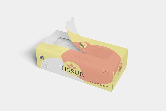 Download Tissue Box Mockups Box Mockup Packaging Design Tissue Boxes