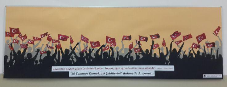 '15 Temmuz Demokrasi Şehitleri'ni Rahmetle Anıyoruz...