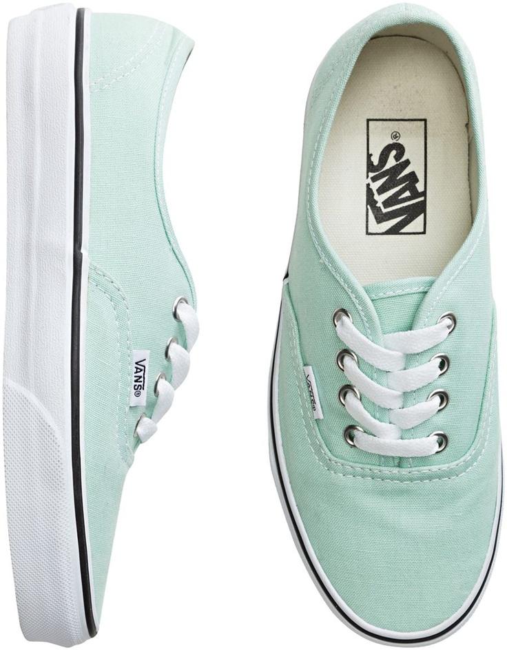 Mint Vans. Want these