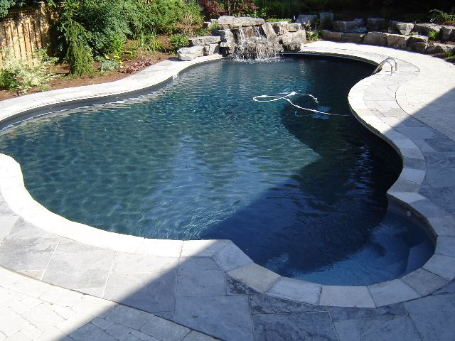 17 best images about pools on pinterest luxury pools pool construction and waterfalls - Witte pool liner ...