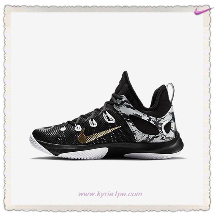 eb7984754da0 Kyrie 3 TS  offerte scarpe Nero Bianco Oro metallico 705370-071 Nike Zoom  Hyperrev 2015
