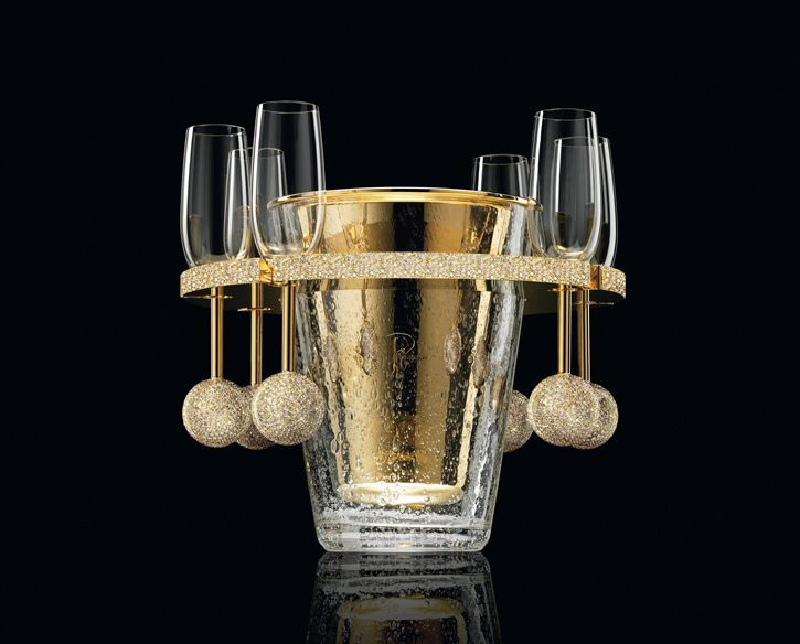 Image: Courtesy of Van Perckens. NR. 8 Champagne Cooler.  A BeautifulNow curated for beauty 2015 gift guide features 10 gorgeous food and drink gifts to give now.  #BeautifulNow! #gifts #luxury #champagne #vodka #chocolate #scotch #Cabernet #Sauvignon,