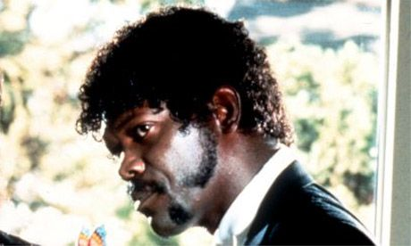 Samuel L Jackson as Jules in Pulp Fiction