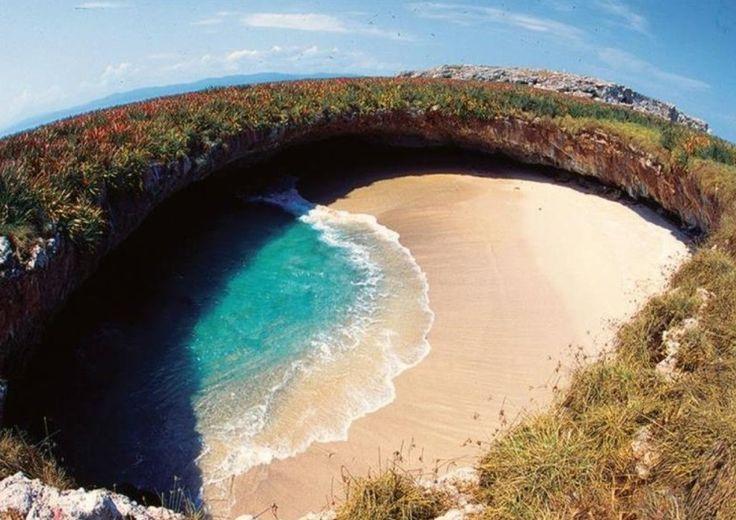 Playa del Amor - Ilhas Marietas - Mexico