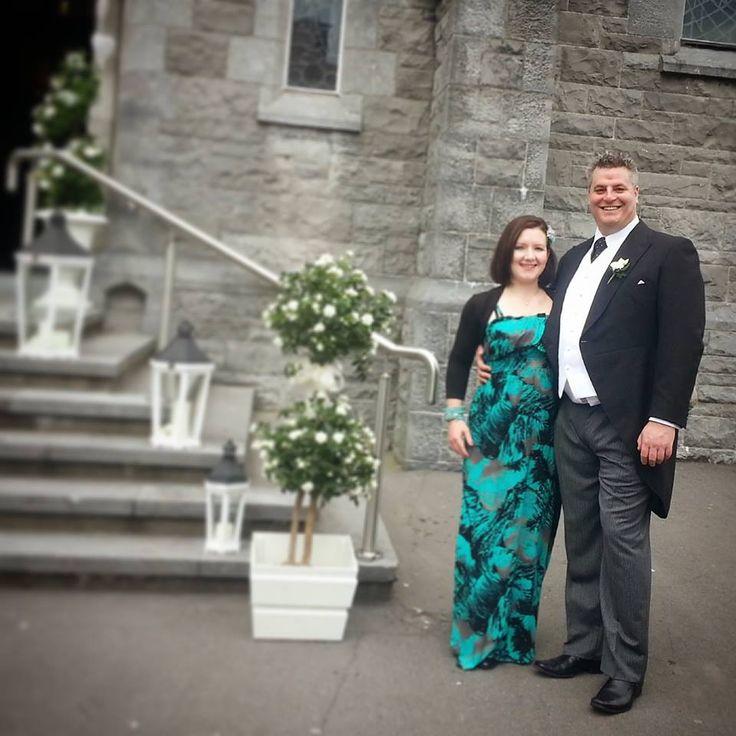 John and Deirdre's wedding, June 2014.
