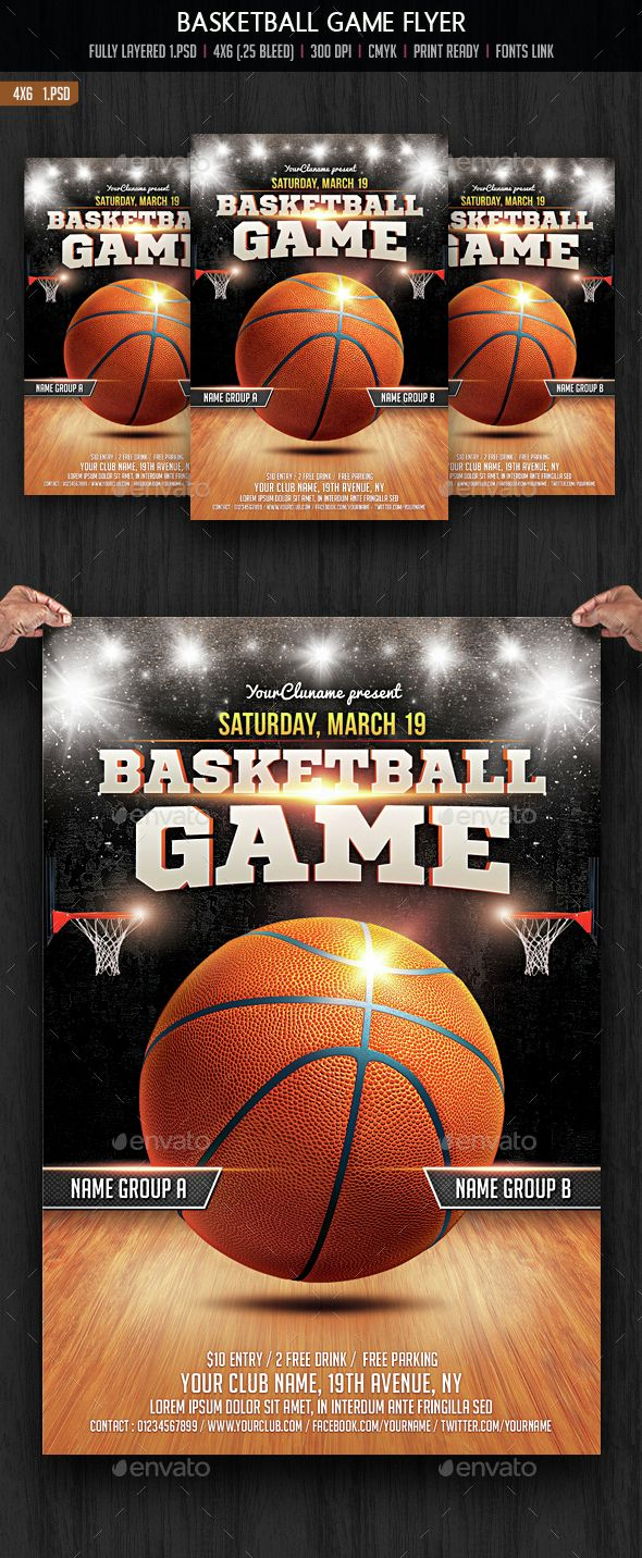 13 best tournament flyers images on pinterest basketball