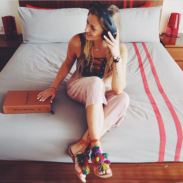 """Re-gram of the lovely @studio4lara on her recent stay at Luna2 studiotel, pictured here in the Strand studio. Thank you for the great pics!   """"Thanks to the amazing team of @Luna2Life for our amazing stay in Seminyak! ❤️Now to Ubud!! 🍀""""  #Luna2life #Luna2 #Luna2studiotel #Bali #Seminyak #hotel #travel #fashion #blogger #designhotels #studio4laratrips #studio #interiordesign by #MelanieHallDesign"""