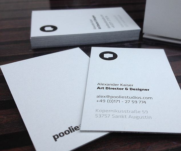 Pooliestudios Business Cards } U003e Repinned By Www.