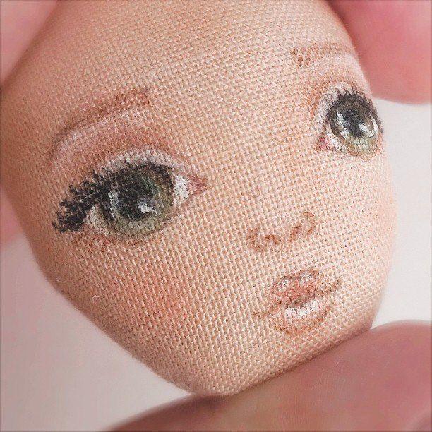 Мои любимые игрушки. Авторские текстильные куклы Анны Балябиной: Начало года