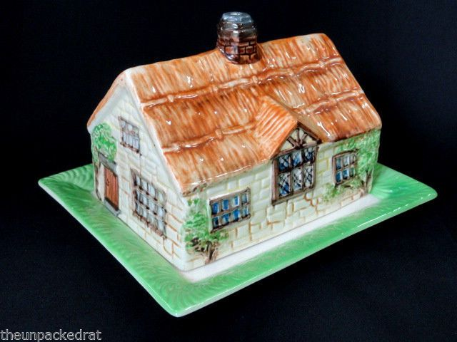 Beswick Ware England Cottage House Home Butter Dish Bowl