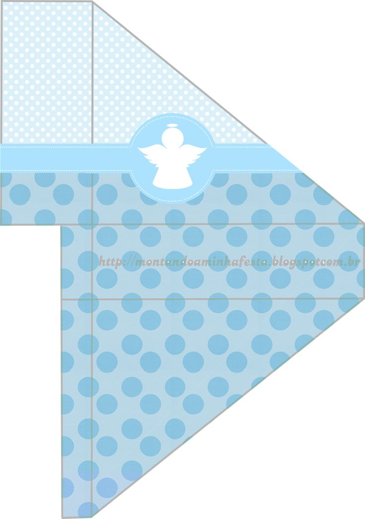 Angel Silhouette Papers in Light blue: First Communion Free Printables.