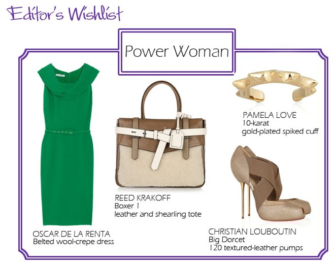 power dress - office clothes