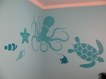 LOOOOVE these for the baby's room!