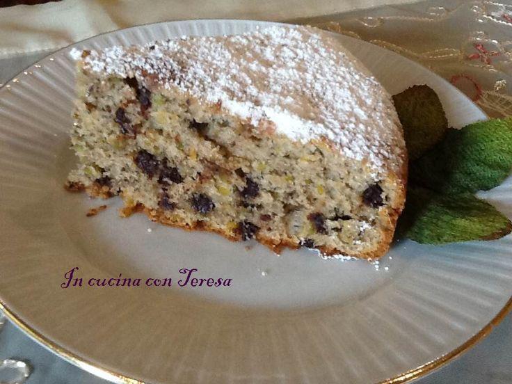 Torta con ricotta e pistacchi | In Cucina con Teresa