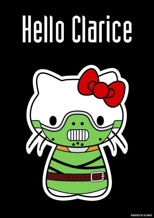 Bad Kitty!   (With images)   Hello clarice, Hello kitty ...