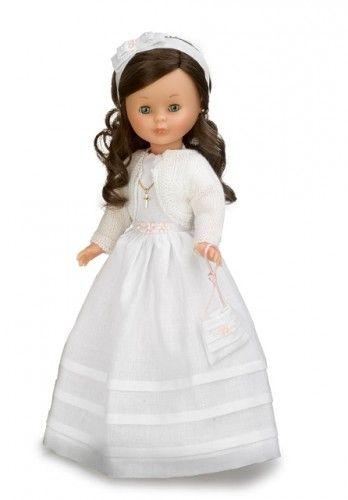 Nancy Comunión morena. #Nancy #dolls #muñecas #poupeés #juguetes #toys #bonecas #bambole #ToyStore