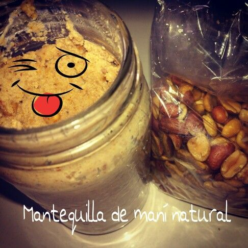 #Mantequillademaní 100 %natural Yummy