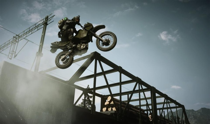 Go on an HD joy ride with player Filthy Bandit - Gorgeous! http://www.youtube.com/watch?v=Ip7TR7F43Yc Battlefield 3: End Game is out now for all Battlefield 3 Premium players . SHARE if you're loving dirt bikes!
