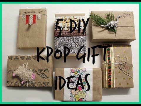 DIY Kpop Gift Guide   Regalos Para Fans De Kpop - YouTube