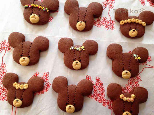 型も手作り☆ジャッキーのクッキーの画像