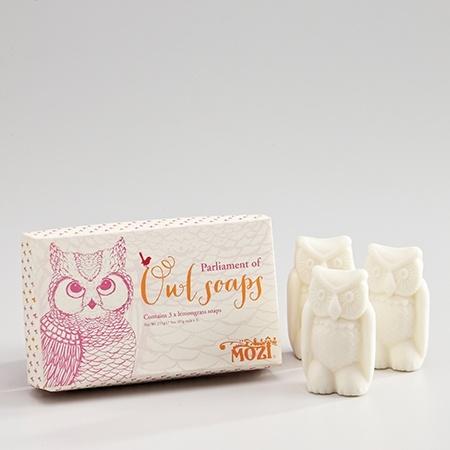 trio of owl soaps - hardtofind.