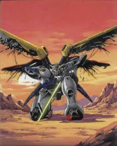 Gundam Wing: Wing Zero art