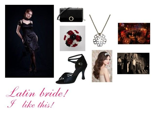 """""""For Sofia (friend) - Sofia's ideal wardrobe by me: Latin bride!"""" by sarah-m-smith ❤ liked on Polyvore featuring Salsa and Bulgari"""