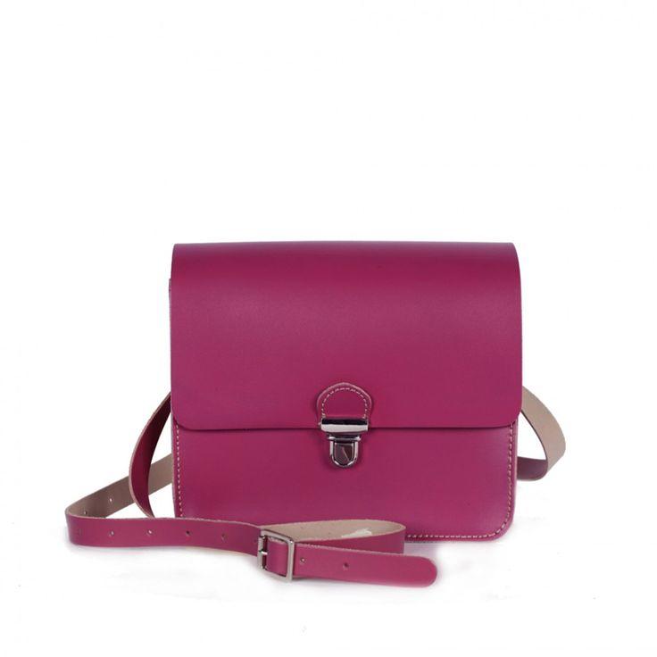Leather Pop Bag Ultra Violet