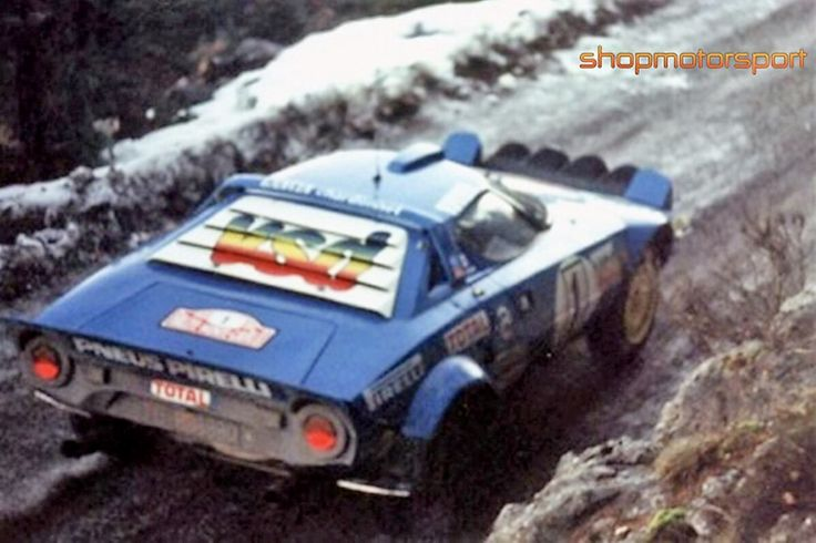 Lancia Stratos Darniche Mahe Monte 1980 (With images