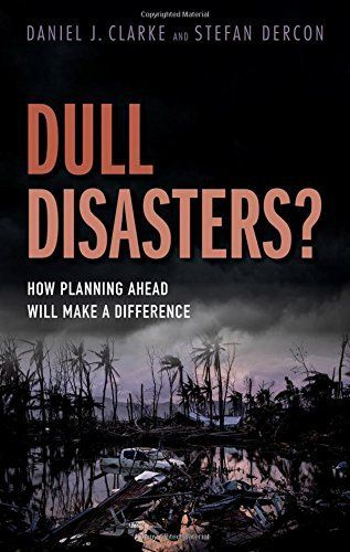 In recent years, typhoons have struck the Philippines and Vanuatu; earthquakes have rocked Haiti, Pakistan, and Nepal; floods have swept through Pakistan and Mozambique; droughts have hit Ethiopia, Kenya, and Somalia; and more. All led to loss of life and loss of livelihoods, and recovery will... more details available at https://insurance-books.bestselleroutlets.com/property-insurance/product-review-for-dull-disasters-how-planning-ahead-will-make-a-difference/
