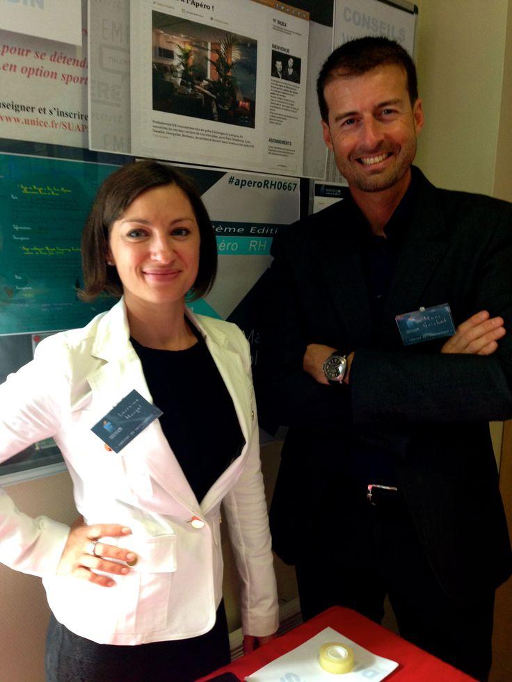 Lorraine et Marc Prêts pour sourcer, qualifier, conseiller et Recruter !