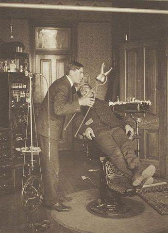 Dentist, vintage, patient, history, odontology, clinic, photograph, photo, sapira