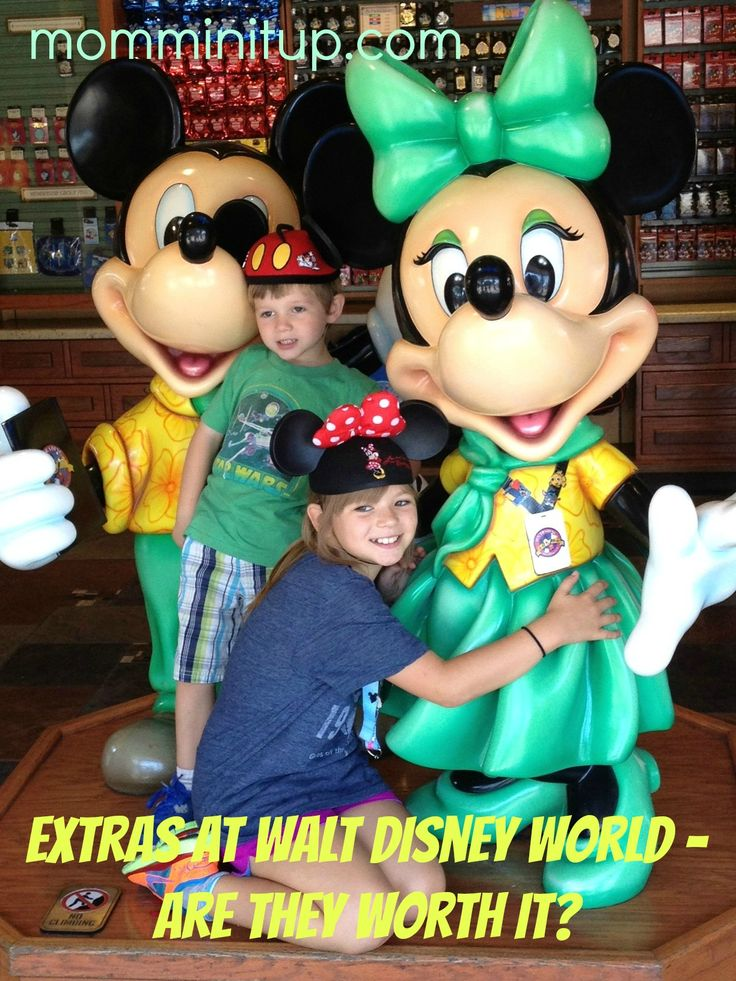 """A complete review of some of the """"extra"""" experiences Walt Disney World has to offer. #WDW #Disney"""