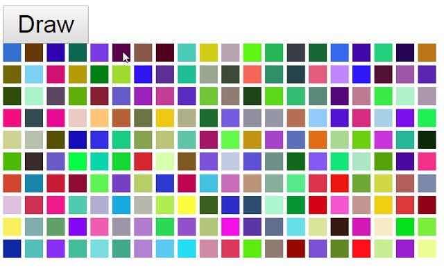 Colorful Tile set in javascript